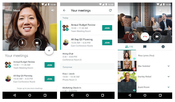 Best Video Conferencing Apps For Android: Hangouts Meet | Mobile Marketing  Reads