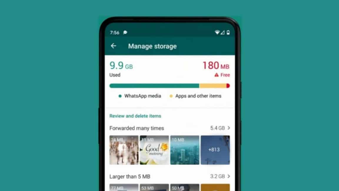 WhatsApp's New Storage Management Tool Makes It Easier To Free Up Space